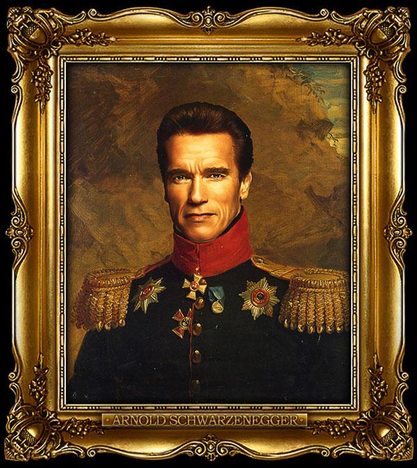 Иностранные знаменитости в образе русских генералов - участников войны 1812 года