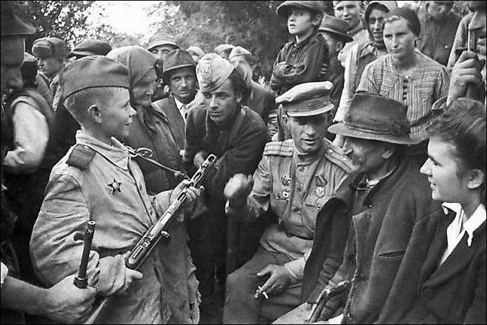 Юные солдаты Второй Мировой