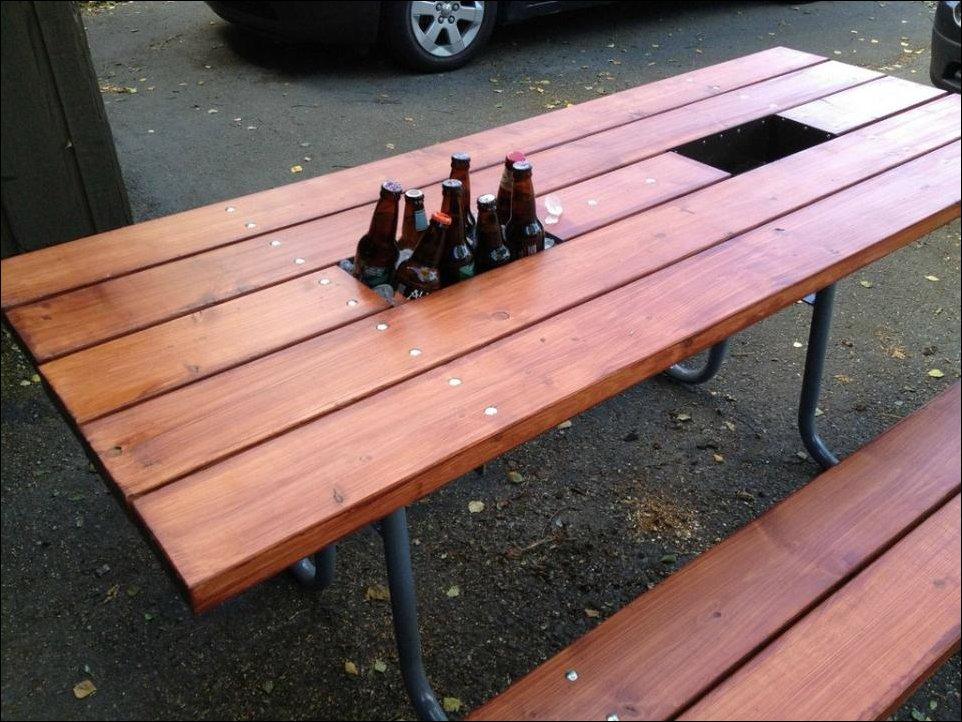 Дачный столик