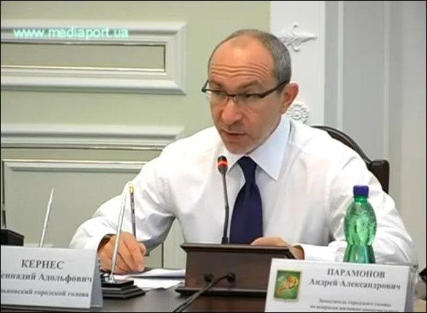 Мэр Харькова решает проблему