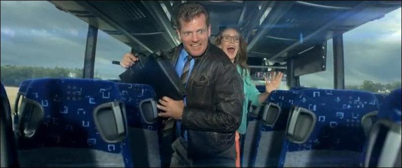 Реклама датской автобусной компании