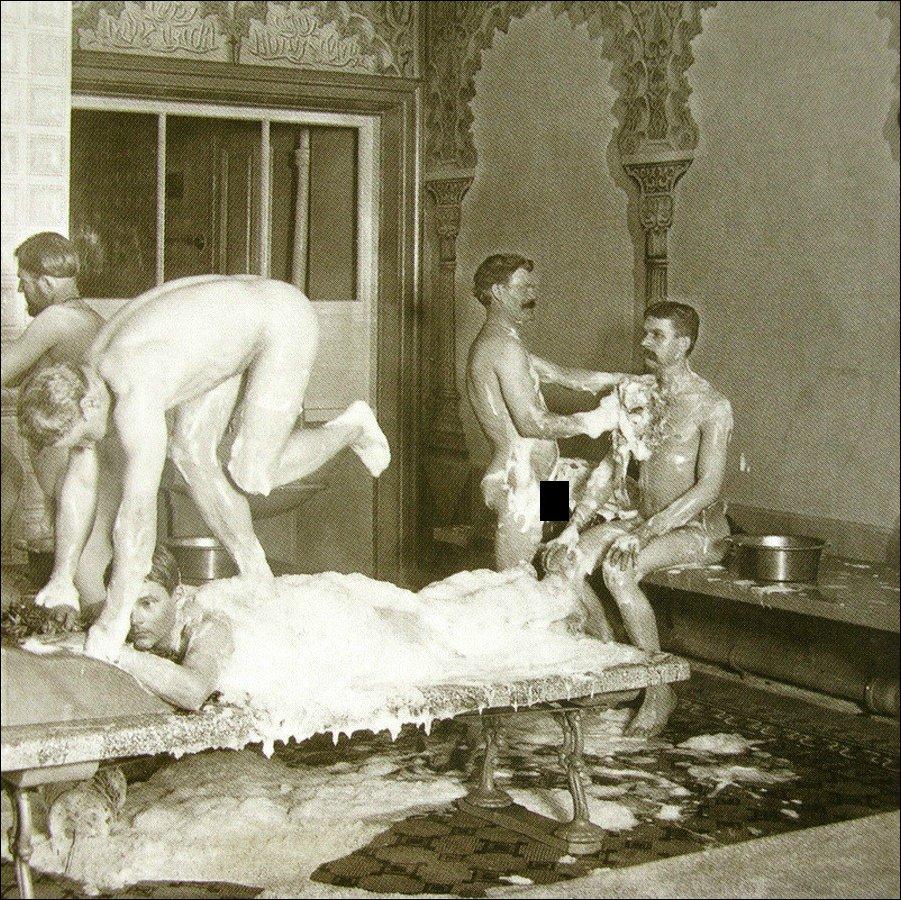 Общая баня в старину видео секс — pic 9