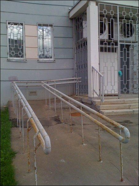 Пандусы для колясок
