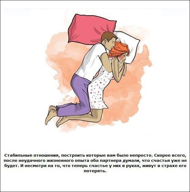 Позы для сна
