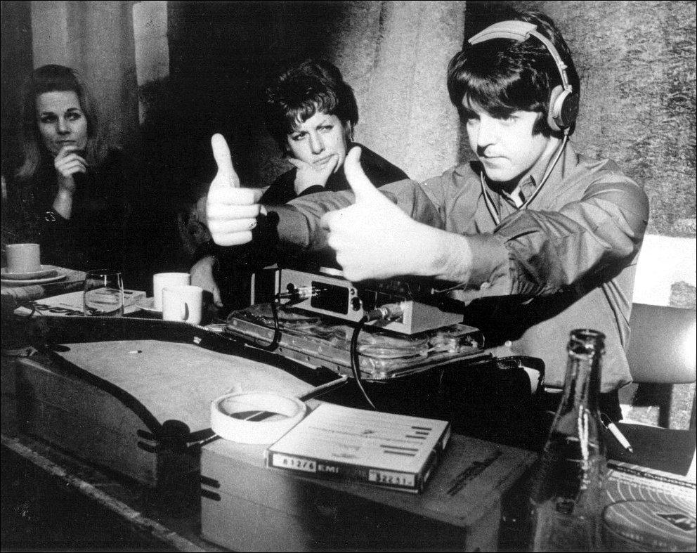 14 февраль 1968 пол маккартни в процессе