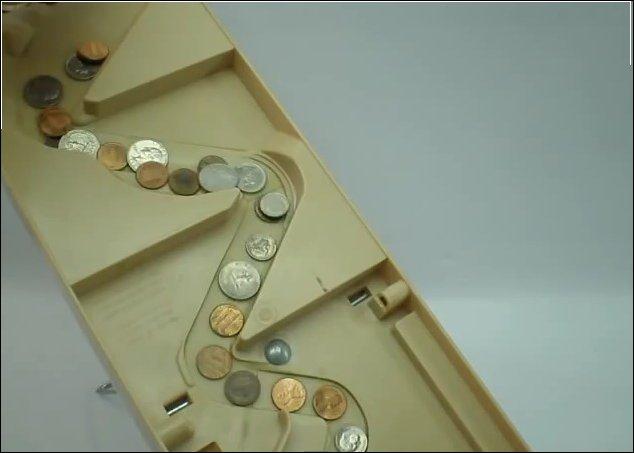 Простой сортировщик монет