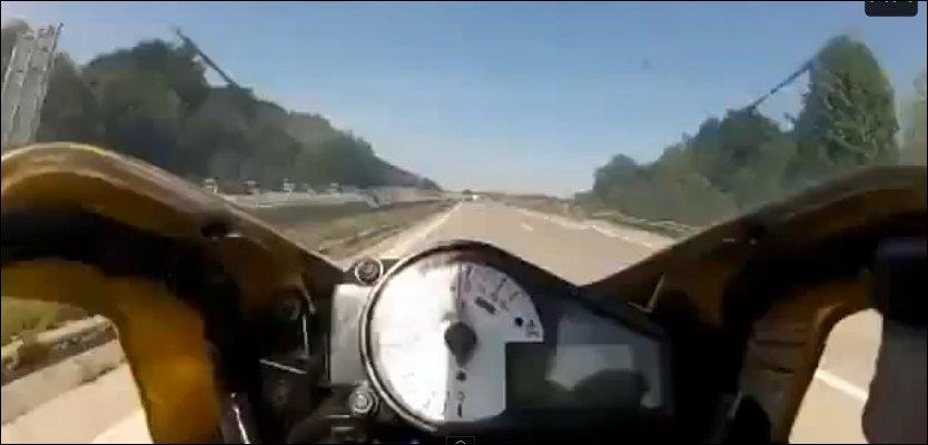 Торможение на 240 км/ч