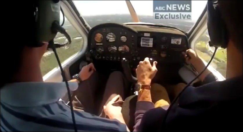 Посадка самолета с заглохшим двигателем