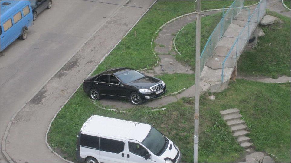 Паркуюсь как король