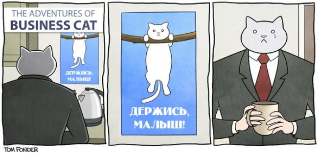 Приключения делового кота