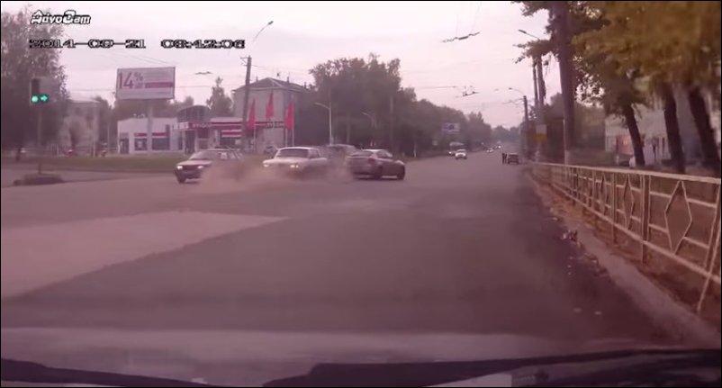 Погоня за нарушителем в Кирове
