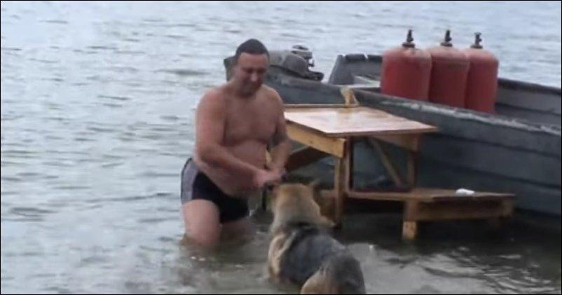 Утопили ГАЗ-53