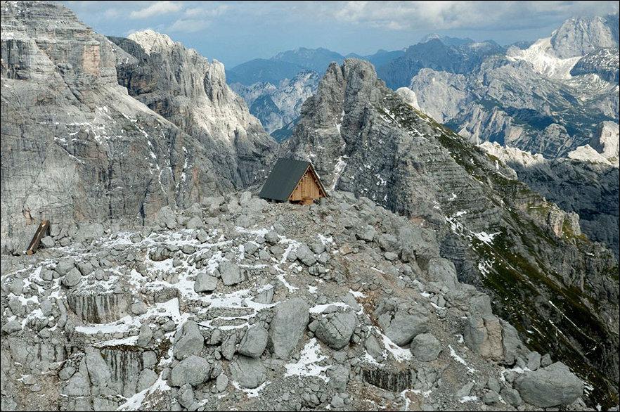 Хижина в Альпах