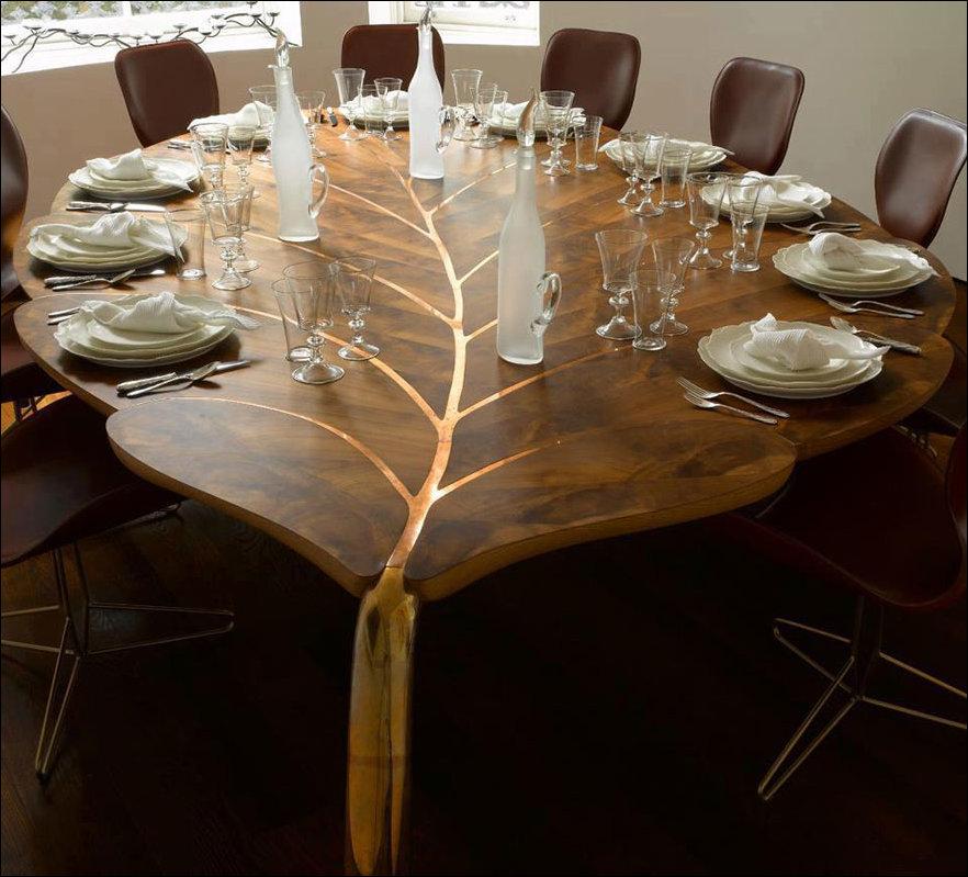 Необычный дизайн стола