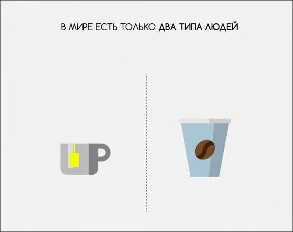 В мире есть только два типа людей
