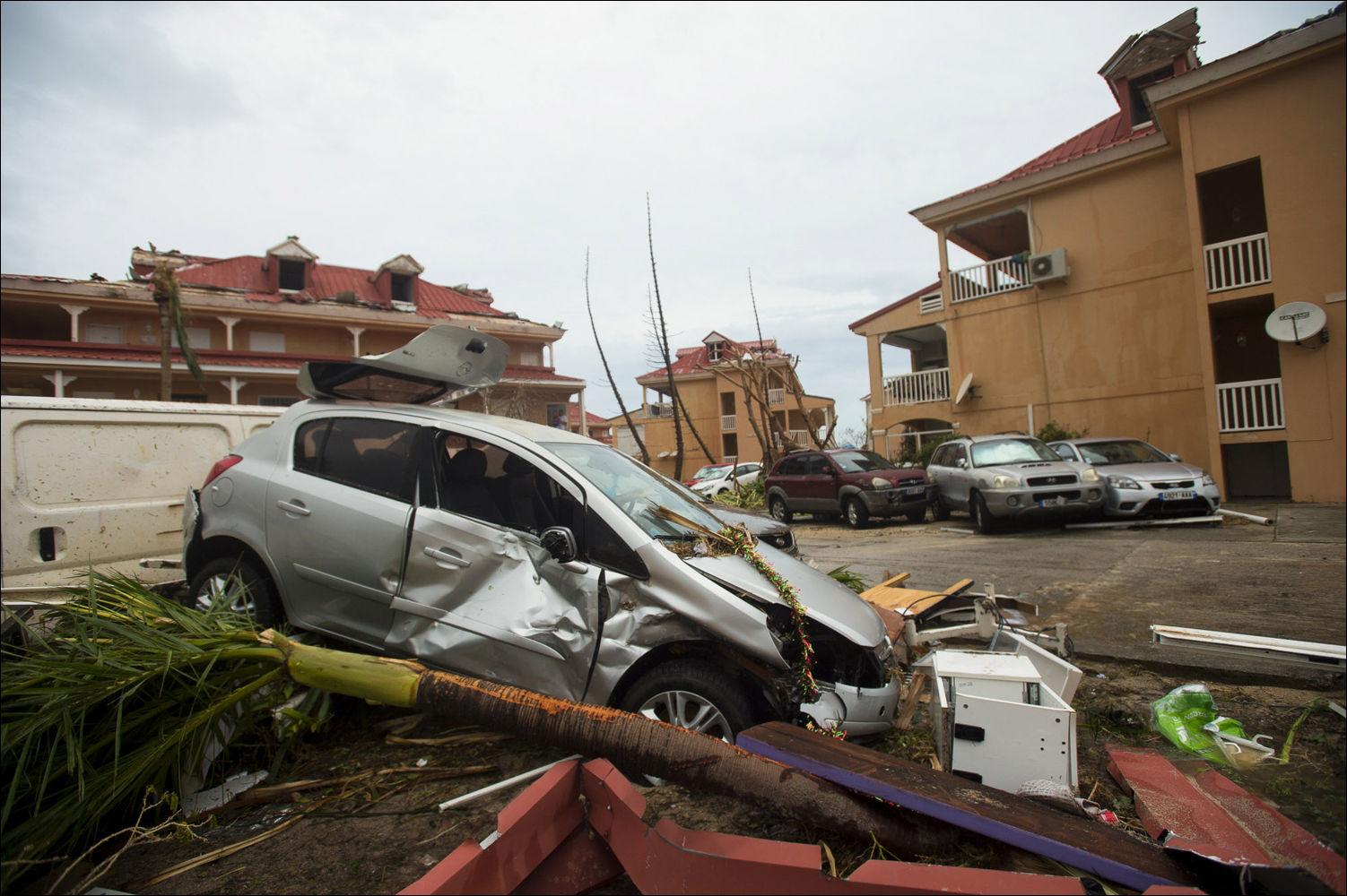 последствия урагана ирма фото