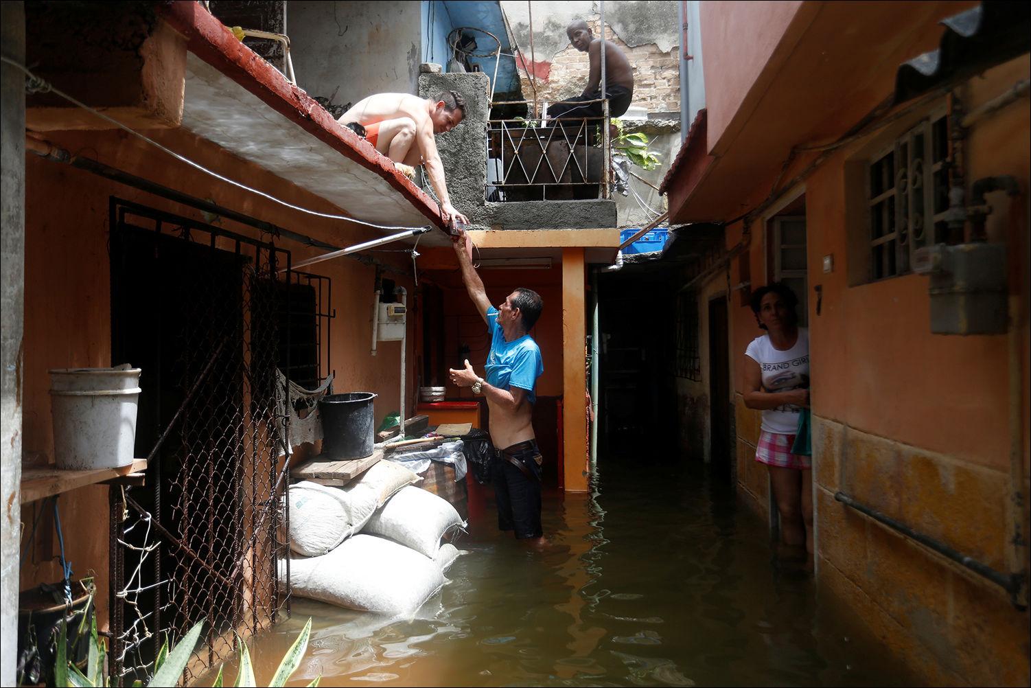 ураган Ирма на Кубе