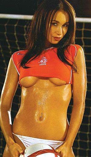 фото футболистки голые