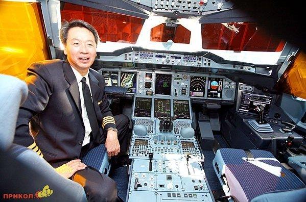 Роскошный лайнер Airbus A380 от Singapore Airlines.