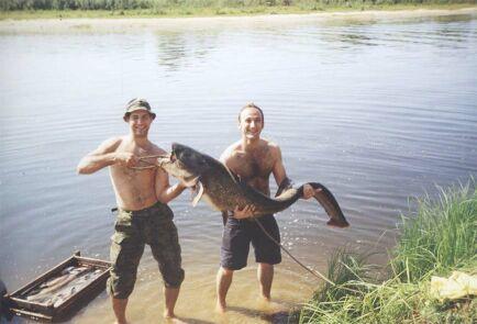 Поймали рыбку? Пора стать спортсменом