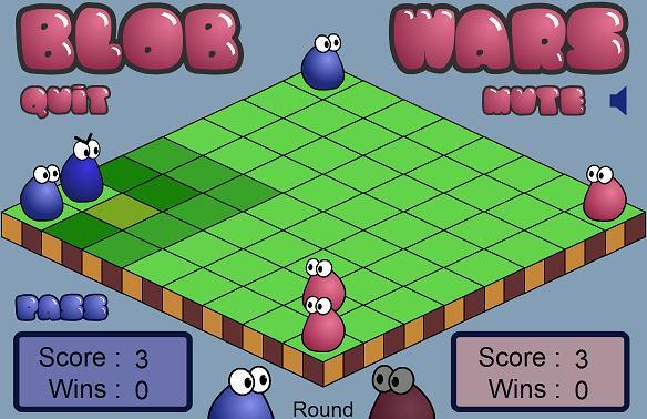 игра blob wars