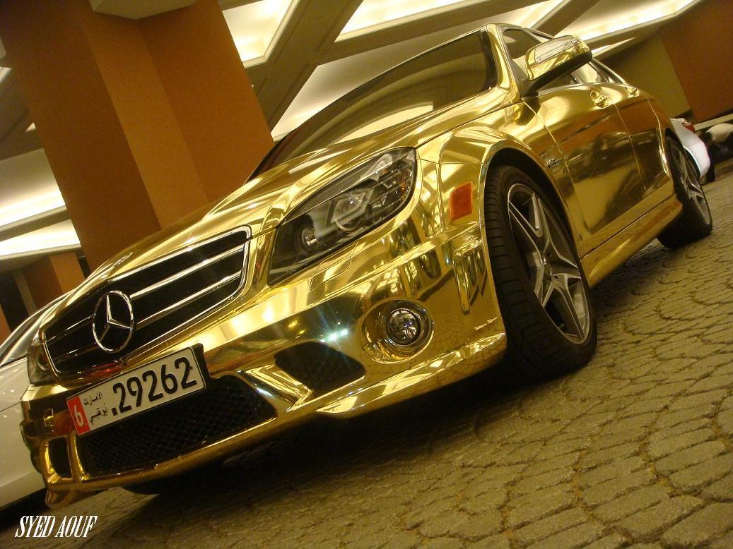 gold-mersedes-c63-03