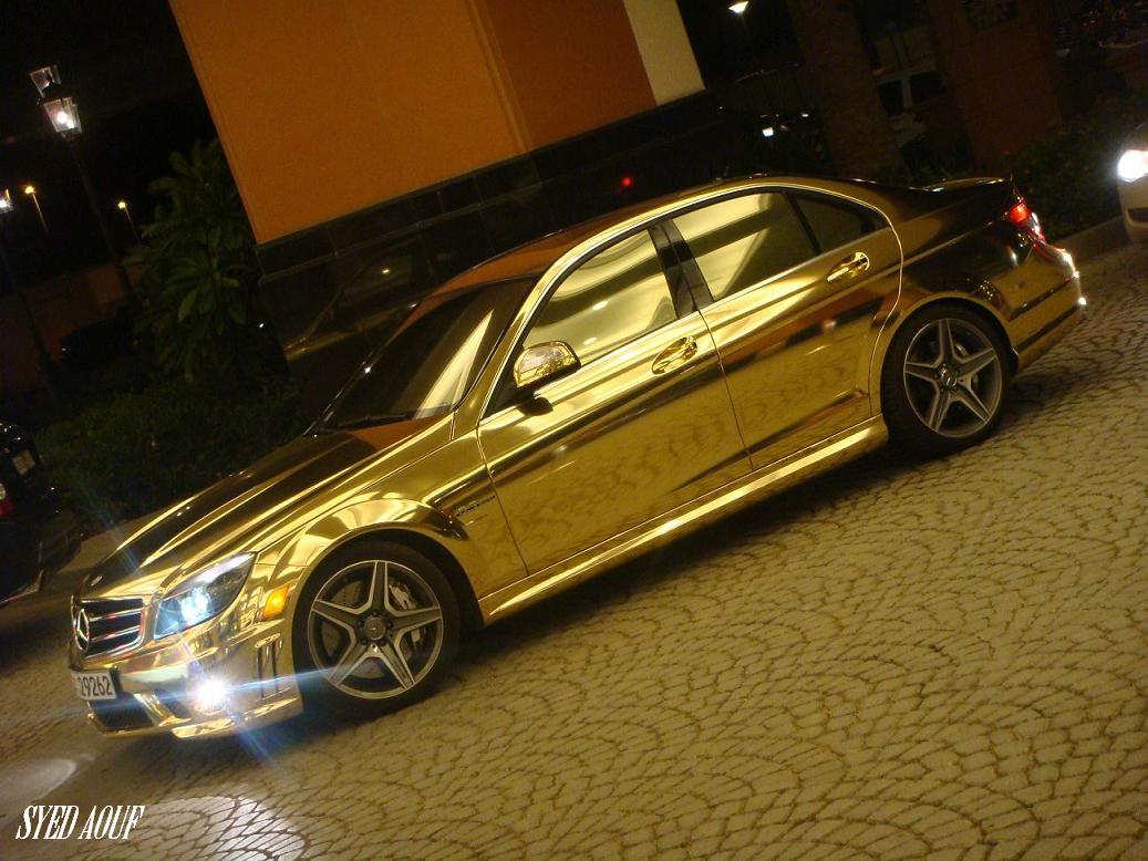 gold-mersedes-c63-04