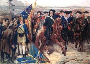 Петр I и пленные шведы