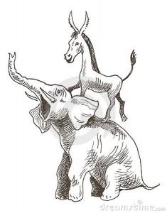 ослы и слоны