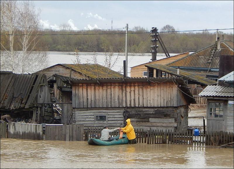 наводнение на Алтае