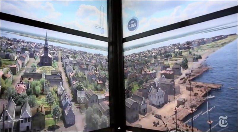 Как менялся Манхэттен с 1600 года