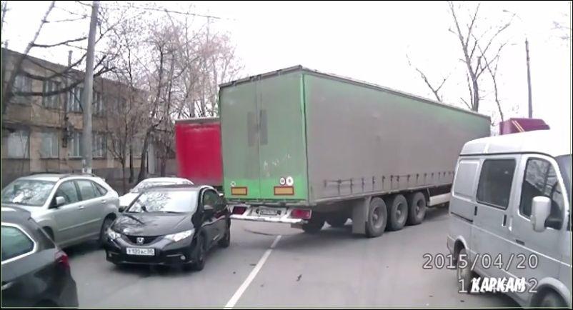 Дерзкое похищение автомобиля