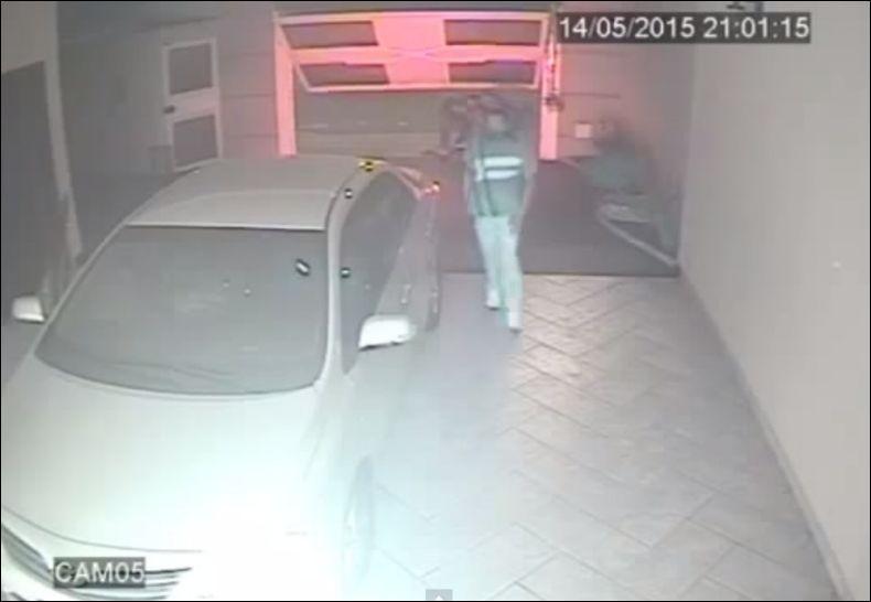 Неудачное нападение в гараже