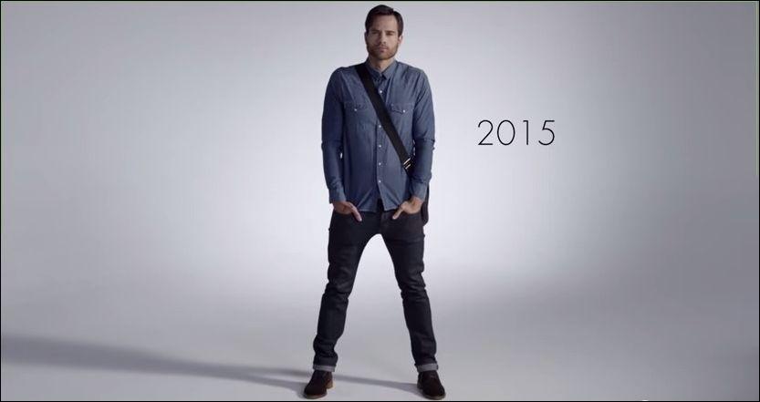 100 лет мужской моды