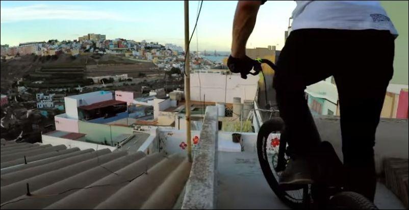 На велосипеде по крышам