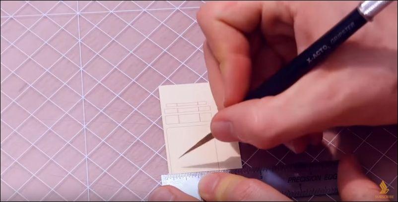 Японец сделал из бумаги модель самолета невероятной точности
