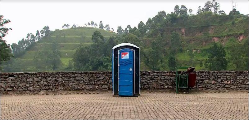 Розыгрыш: туалет-телепорт