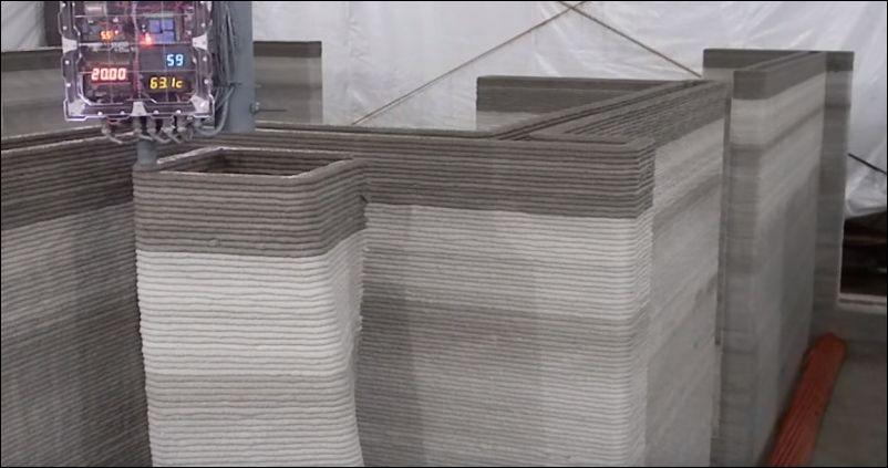 Дом, который построил 3D принтер