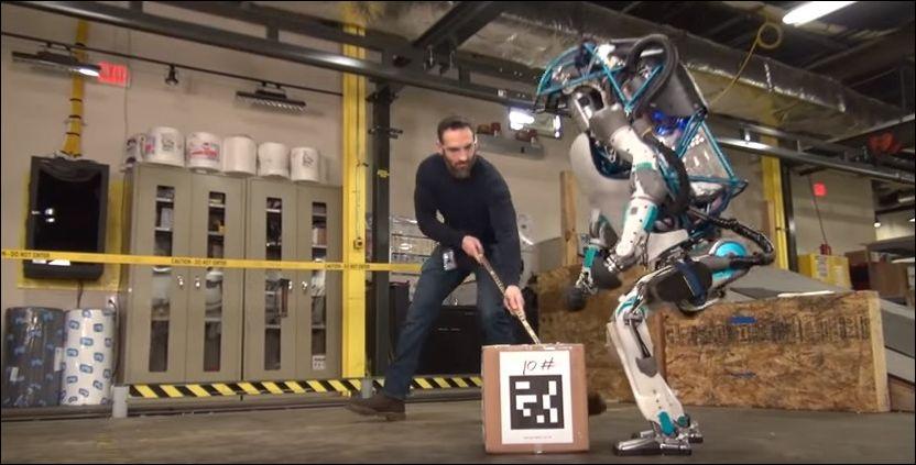 Новое поколение роботов Atlas