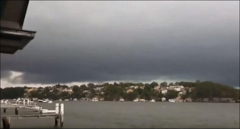 Как выглядит удар молнии в 5 метрах