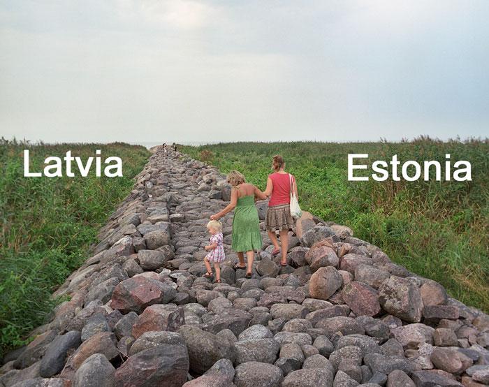 Как выглядят границы между странами Европы