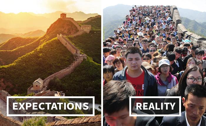 Туризм: ожидание и реальность (46 фото)