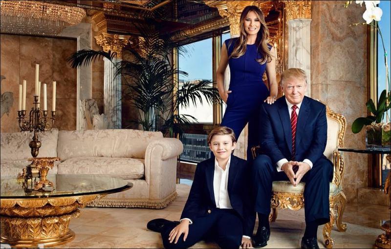 Нью-Йоркский пентхаус Дональда Трампа (14 фото)