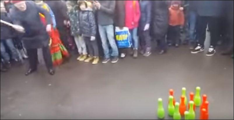 Жириновский на масленице