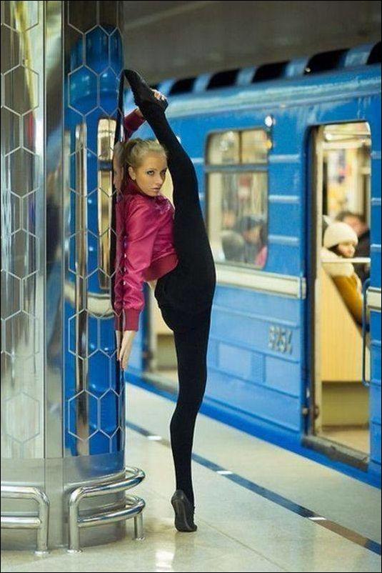 Люди из общественного транспорта (39 фото)