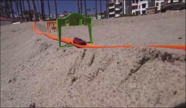 Гонки на пляже