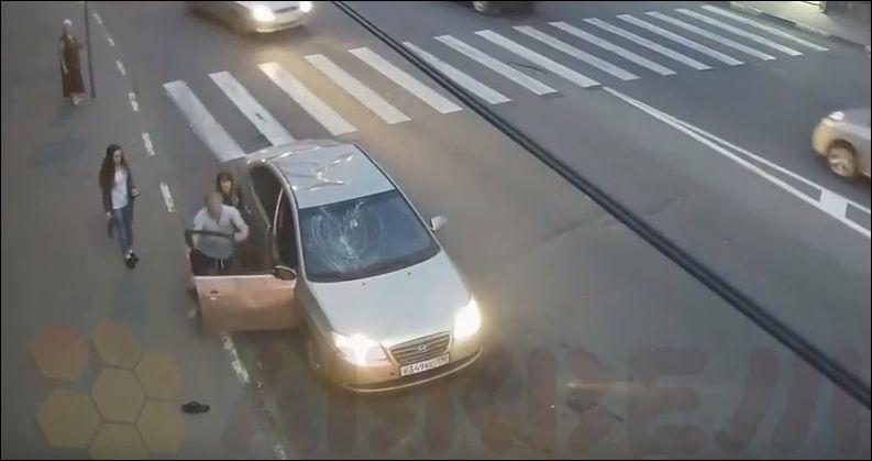 Конфликт на дороге